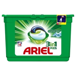 Ariel Power Capsules 14 ks Mountain Spring 3X More Cleaning