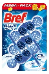 Bref WC Blue Aktive 3x50g Chlorine