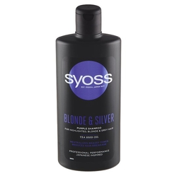 Syoss šampon 440ml Blond Silver