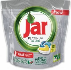 Jar tablety do myčky Platinum 10 ks Lemon