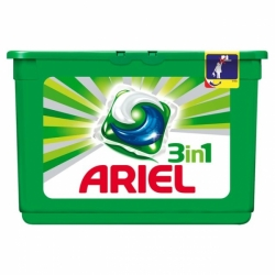 Ariel Power Capsules 12 ks Mountain Spring 3X More Cleaning