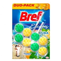 Bref Power Activ WC blok 2x50g Cuba Sensation