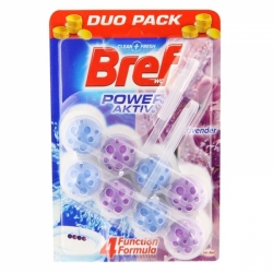 Bref Power Activ WC blok 2x50g Levander