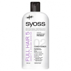 Syoss kondicionér 500ml Full Hair 5