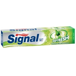 Signal zubní pasta 75ml Deep Fresh Lime Mint