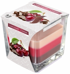 Svíčky Bispol 170g Chocolate Cherry