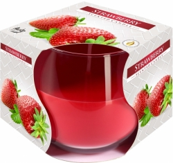 Svíčky Bispol 100g Strawberry