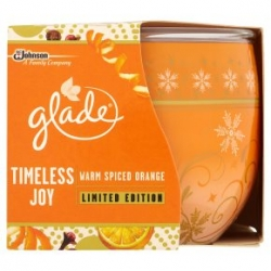 Svíčka Glade Vonná 120g Warm spiced Orange