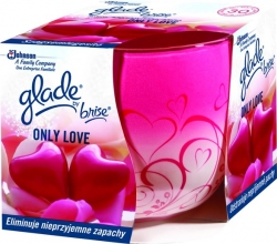 Svíčka Glade Vonná 120g by Brise Only love