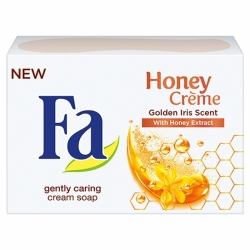 Fa mýdlo 90g Honey Creme