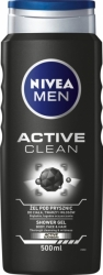 Nivea sprchový gel 500ml MEN Active Clean
