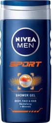 Nivea sprchový gel 250ml Men Sport